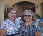 Councilwoman Victoria Baca and Louise Palomarez